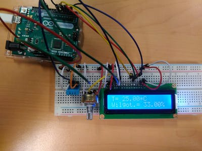 Temperature and Humidity Sensor