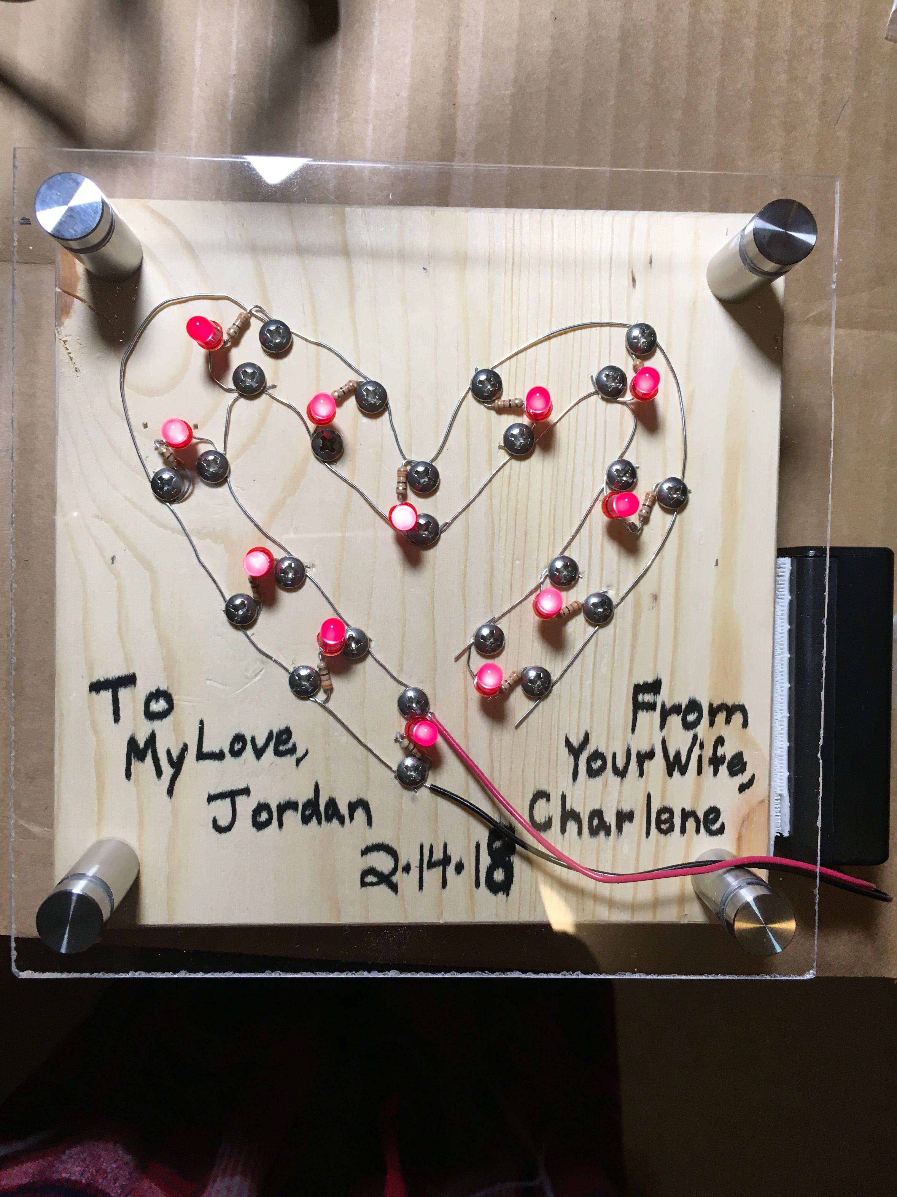 Love on full display!