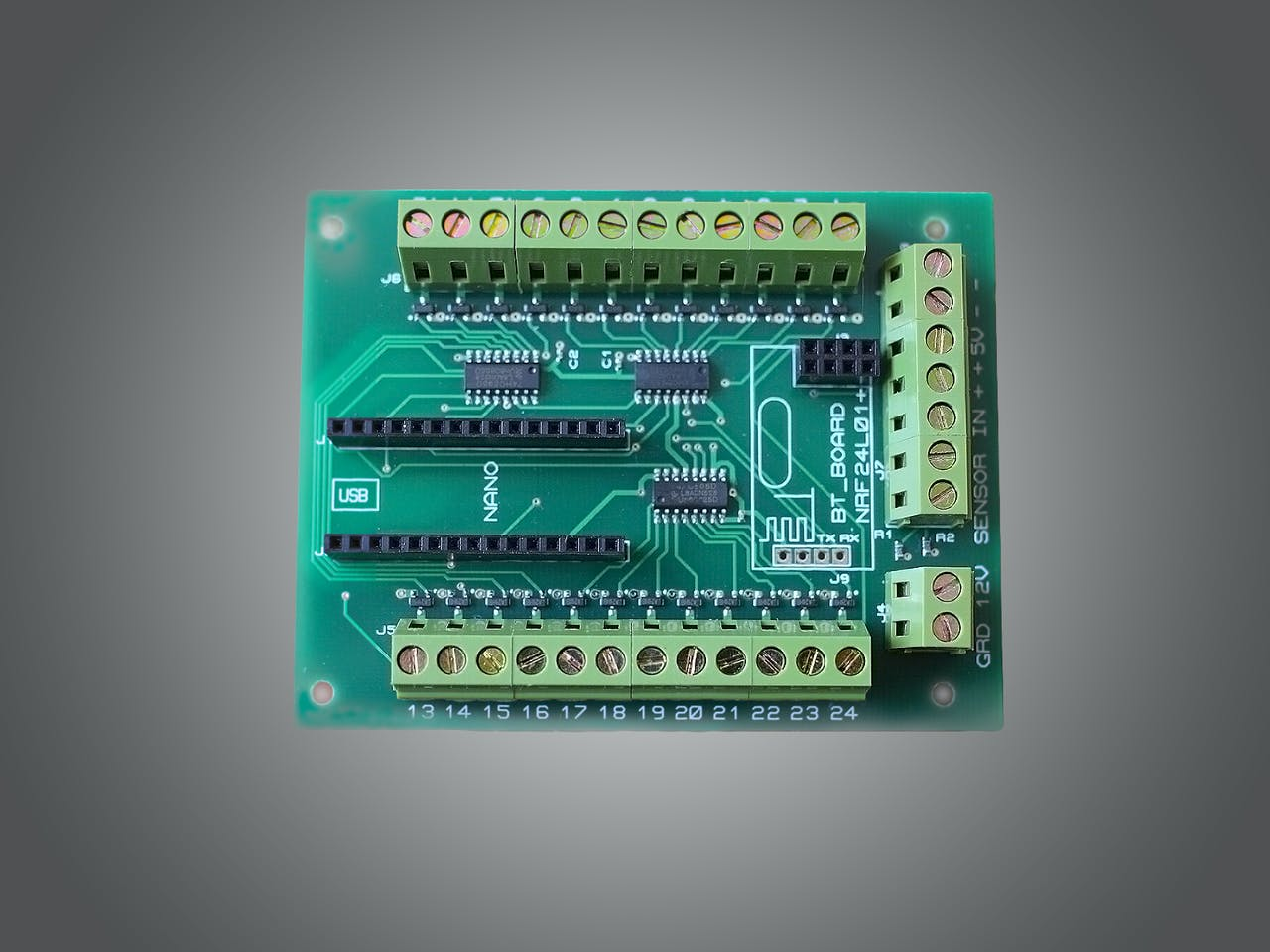 Automatic Led Stairs Lighting Arduino Shield Project Hub Ididit Wiring Diagram