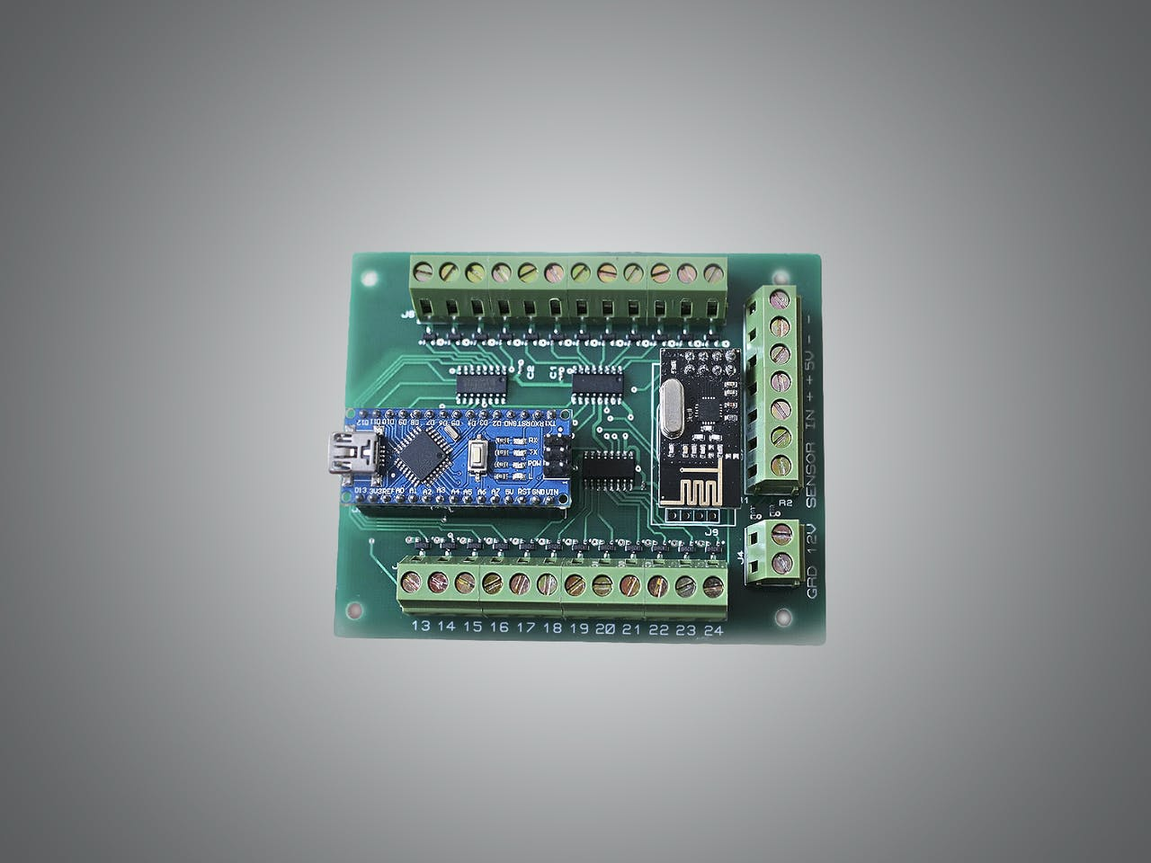 Automatic Led Stairs Lighting Arduino Shield Project Hub Heartbeat Monitor Circuit With And Photocell