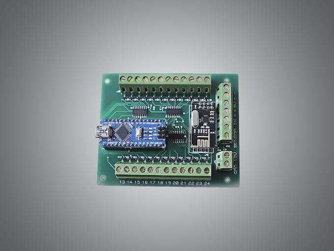 automatic led stairs lighting arduino shield arduino project hub