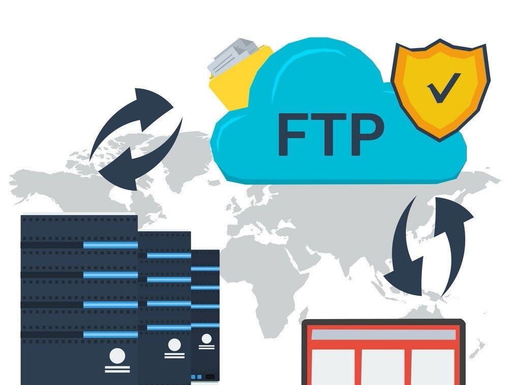 Makes FTP Server Using Windows