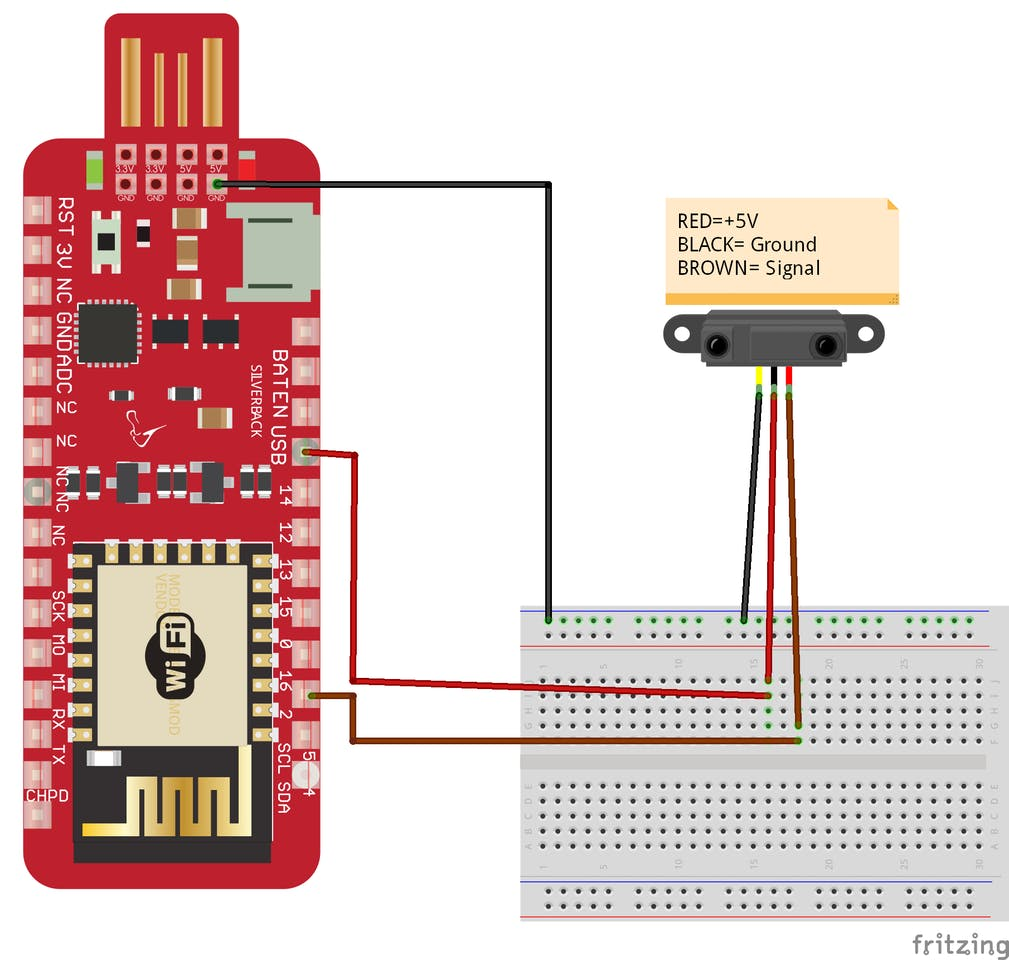 Ir Obstacle Avoidance Sensor Fritzing