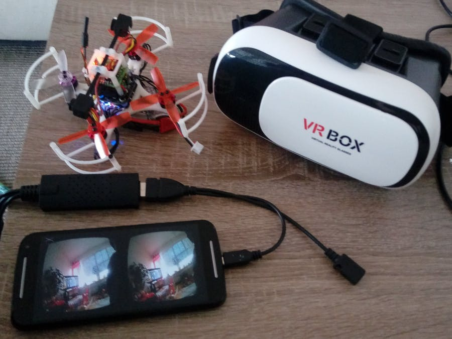 Low-Cost 3D FPV Camera for Android