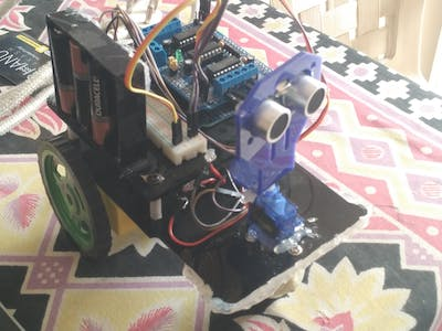 Obstacle Avoiding Robot Using Microcontroller (Arduino)