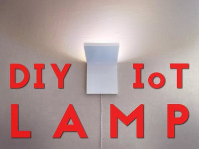 DIY IoT Lamp for Home Automation