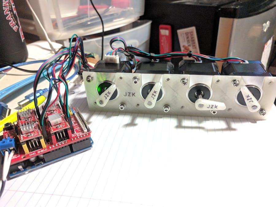 Arduino MIDI Stepper Synth