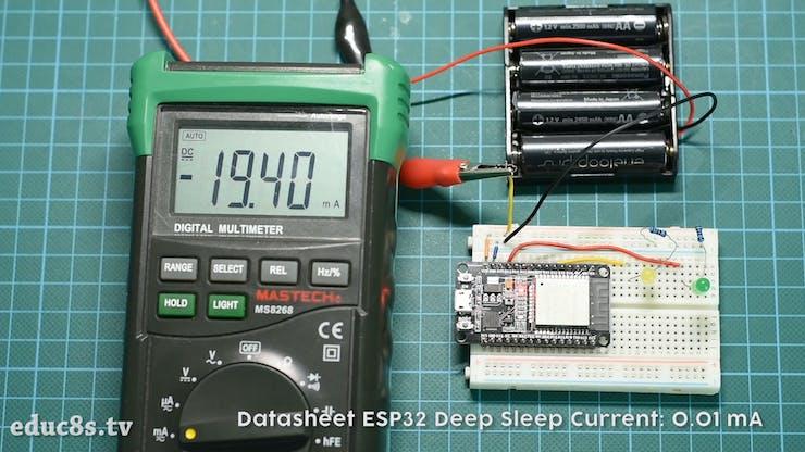 ESP32 Deep Sleep Tutorial - Hackster io