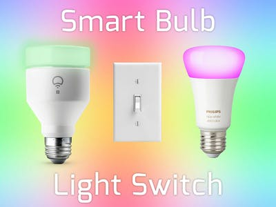 The Smart Bulb Light Switch