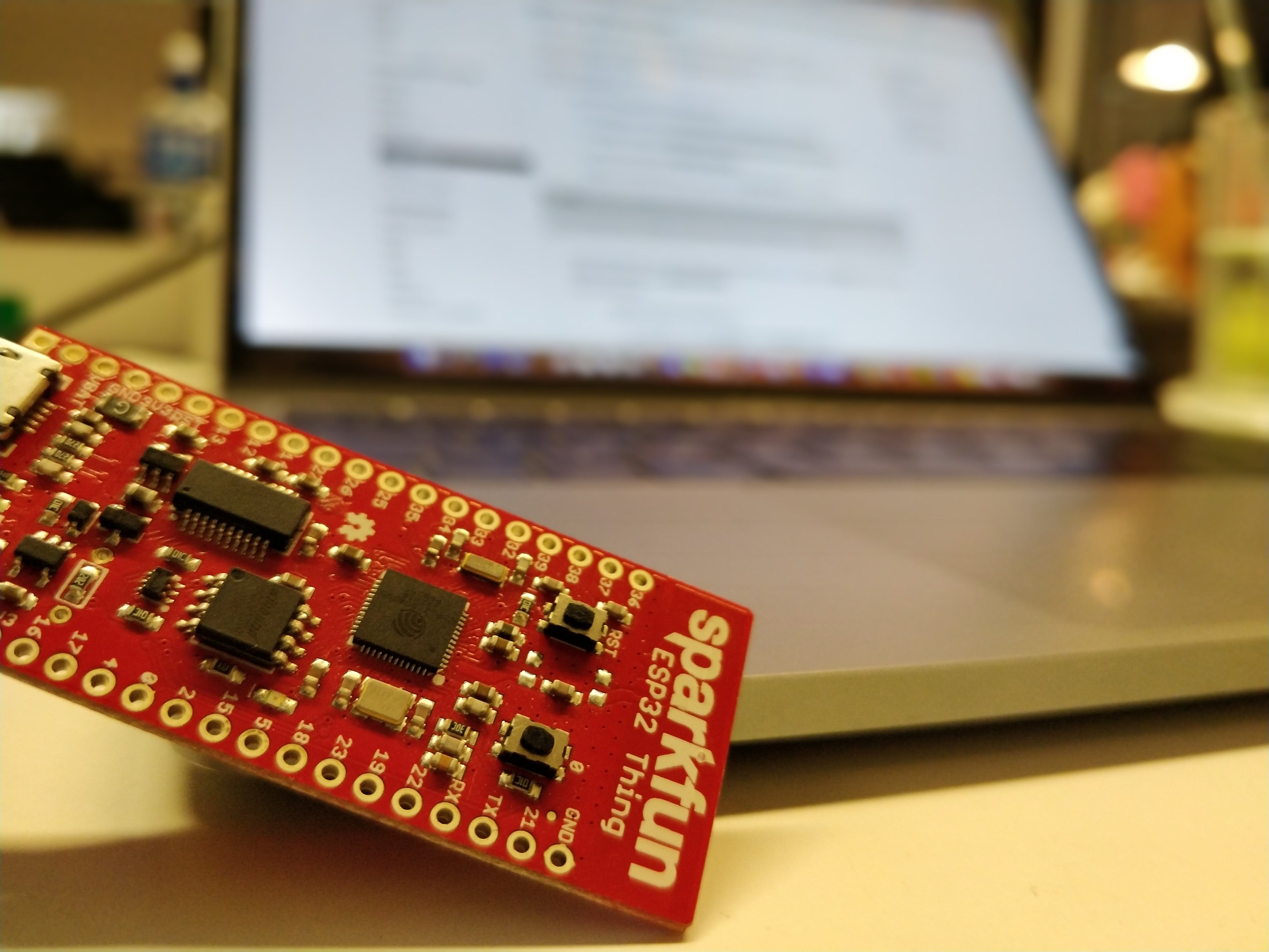 Publish Any Event to Wia Using Your SparkFun ESP32 Thing
