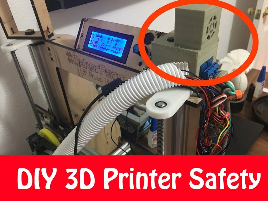 3D Printer Fire Safety