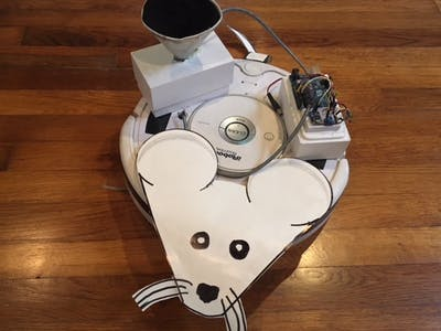 An Arduino and a Roomba Become an Artificial Organism