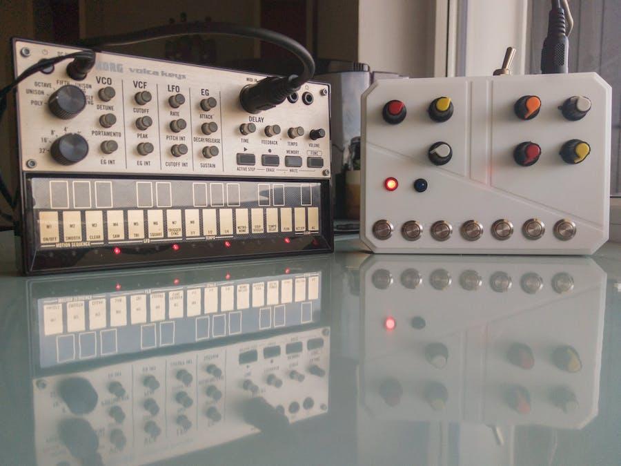 Arduino MIDI Arpeggiator - Hackster io