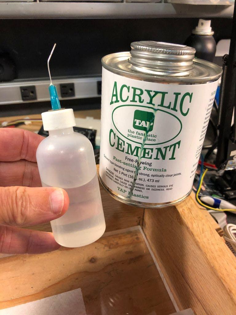 Acrylic Cement & Applicator