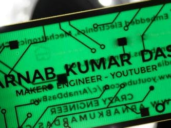Crazy Engineer's PCB Business Card