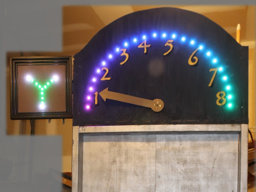 Time Traveling Elevator - Theater Prop
