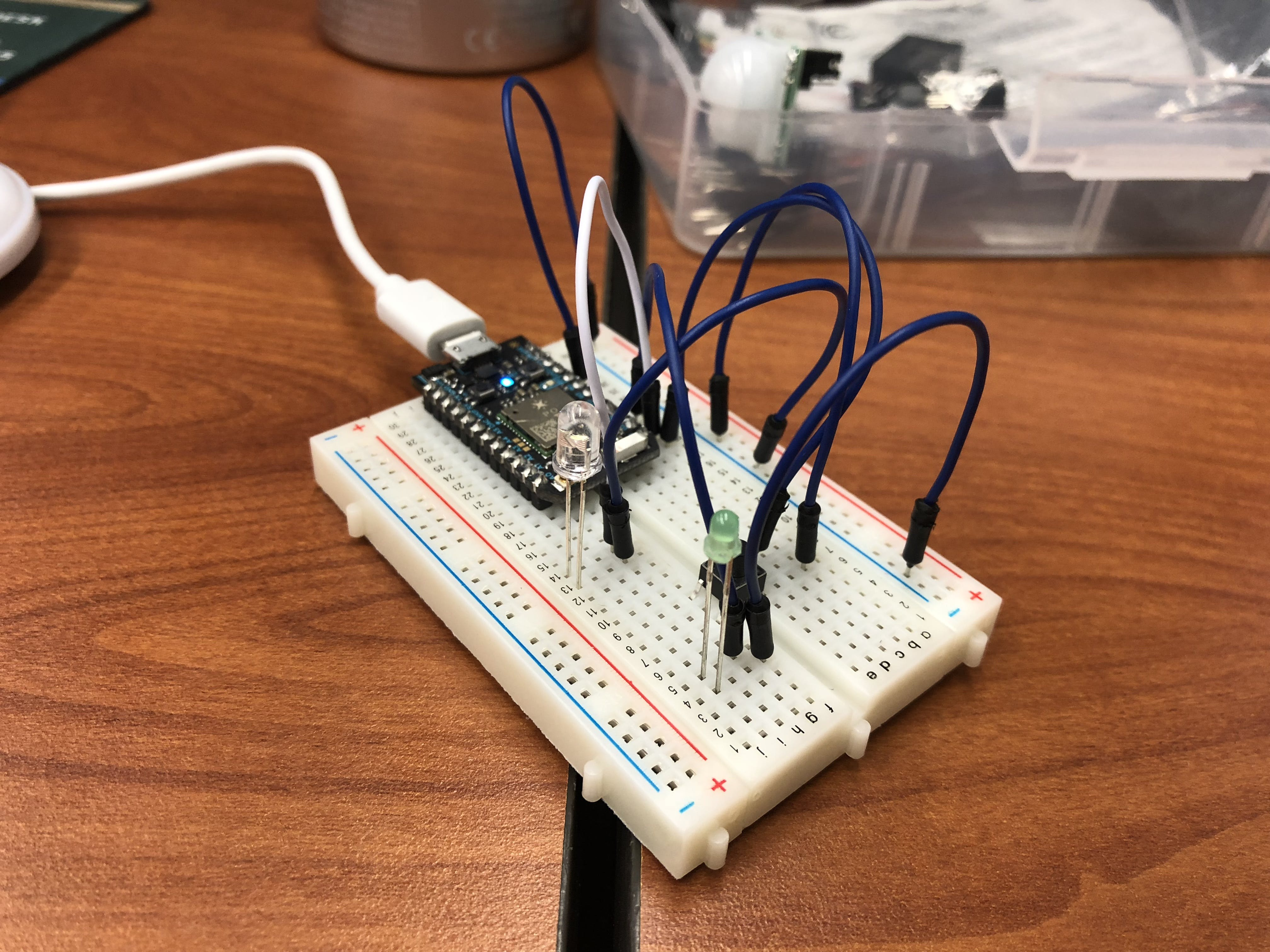 Photon 1: LED onboard