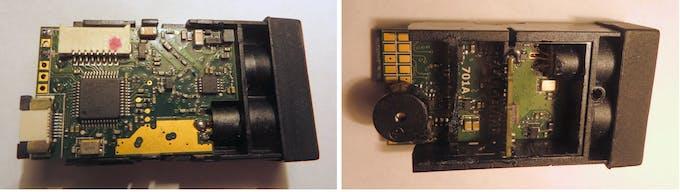 Laser rangefinder module