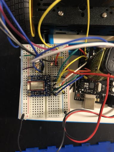 BLE Module Wiring to the Arduino