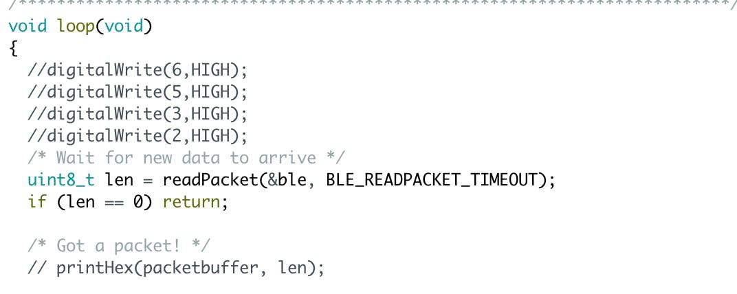 Arduino Code Addition: Digital Write