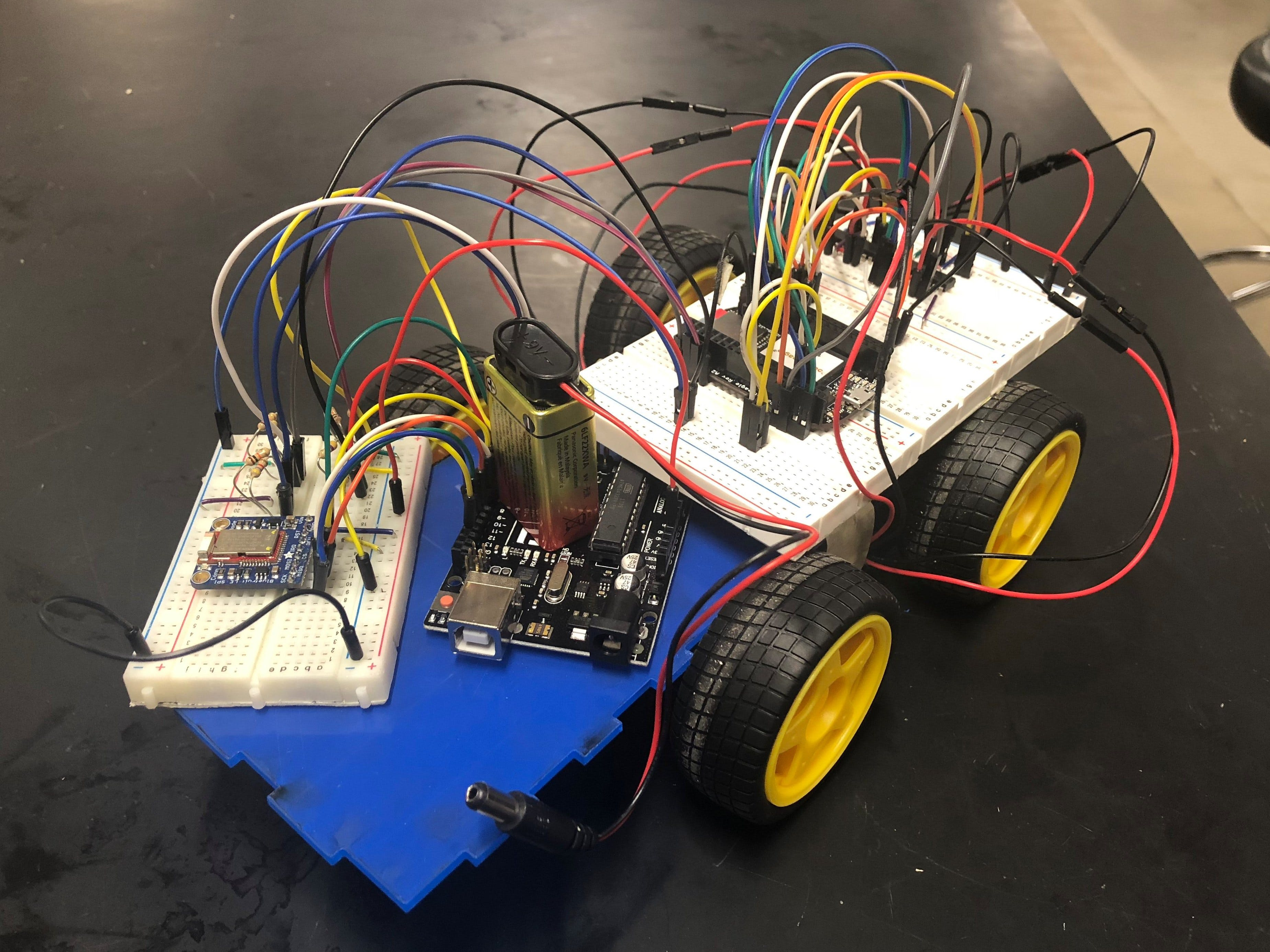 Remote Control Car w/ PocketBeagle and Arduino