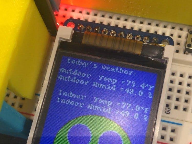 Indoor-Outdoor Temperature Sensors