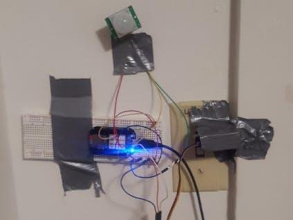 PocketBeagle Automatic Light Switch