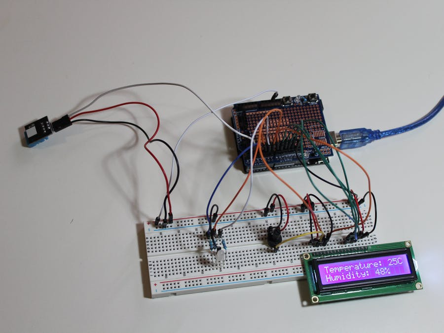Air Conditioning Control System - Emulator - Arduino Project Hub