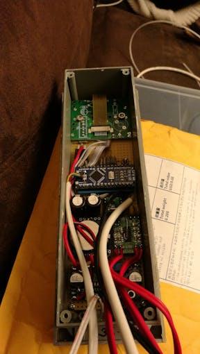 Desoldered USB socket
