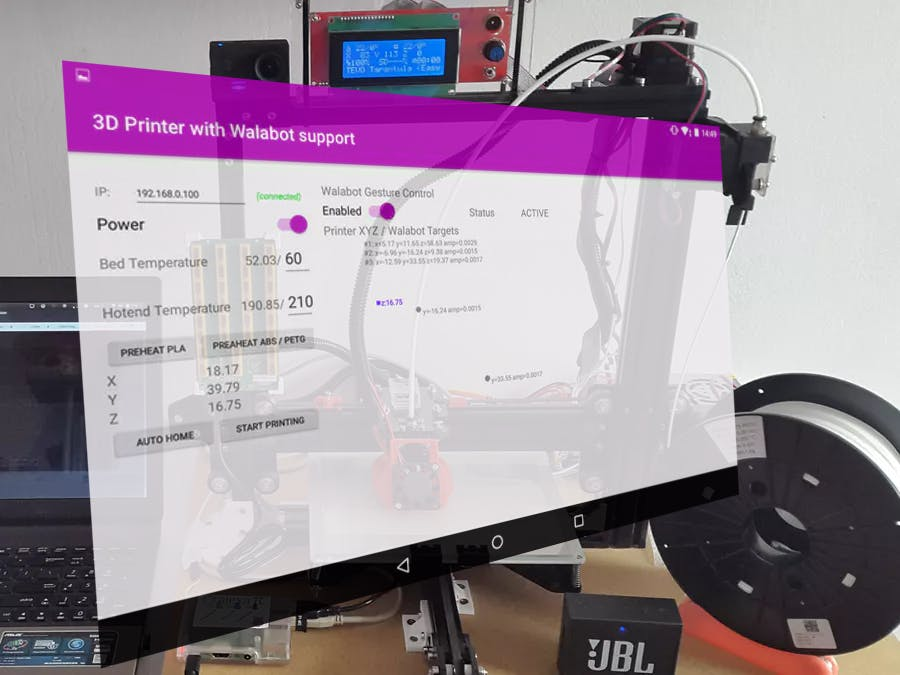 Alexa / Walabot Controlled Smart 3D Printer - Hackster io
