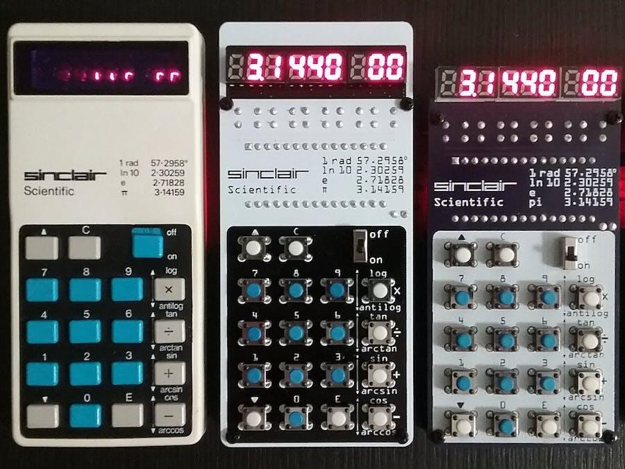 Sinclair Scientific Calculator Emulator - Hackster io