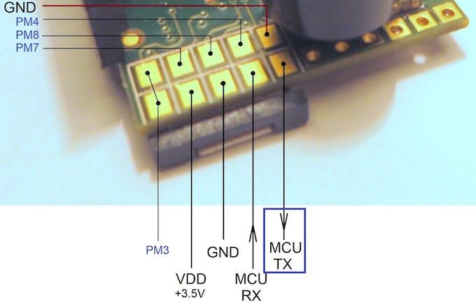 701A module pinout