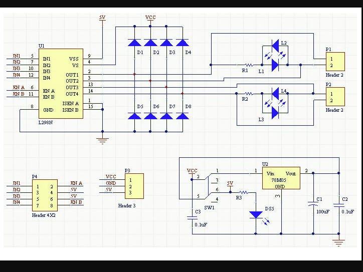 BeagleBone Black and L298 Motor Driver in Python