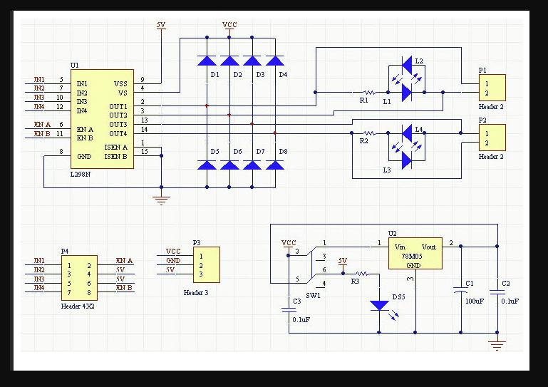 L298 schematic pryjsfwnlt