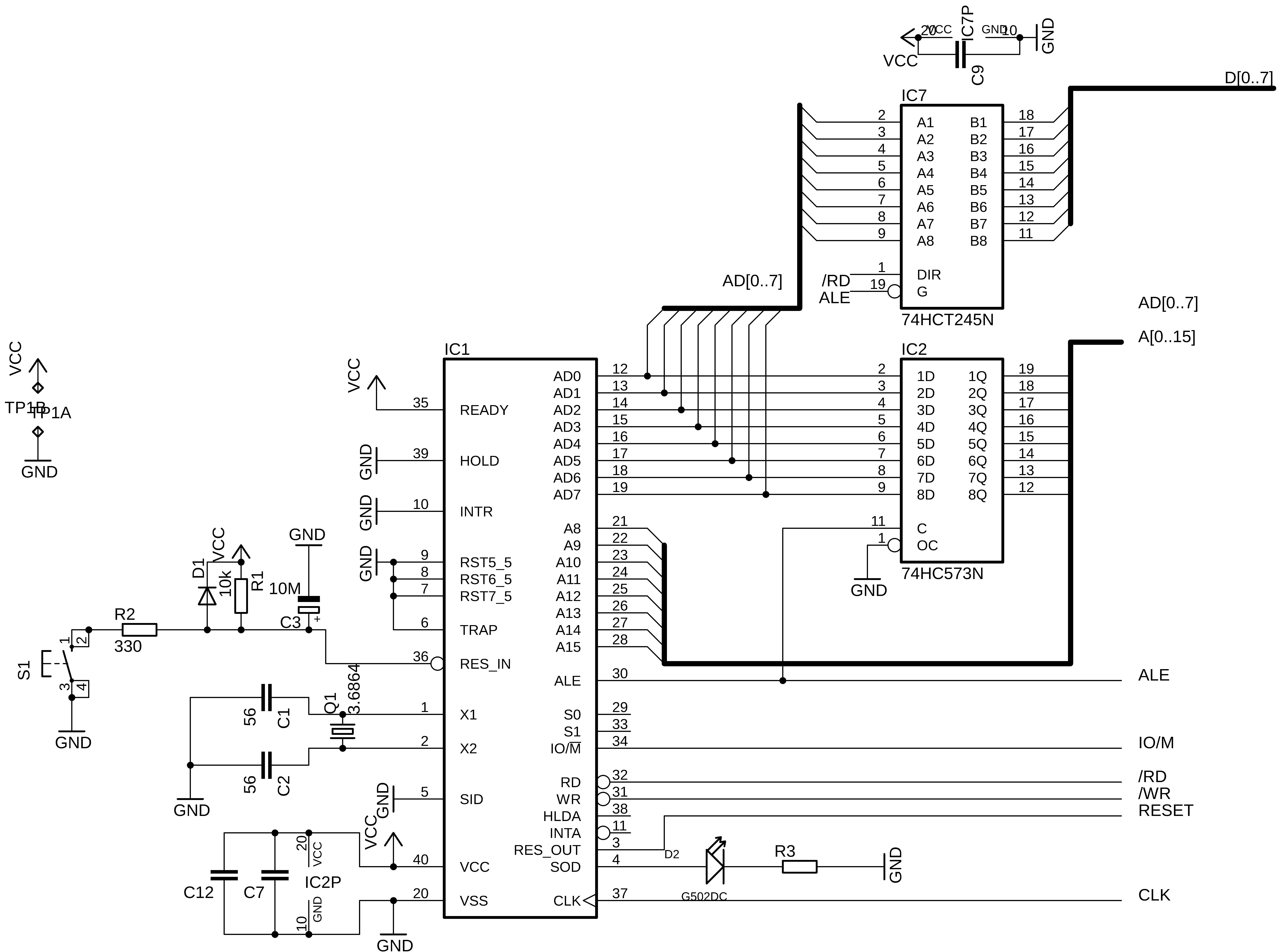 Omen Alpha Schematic For The Parallel Port Driver Matrix As Alpha85 Cpu 8tnyhecsrq