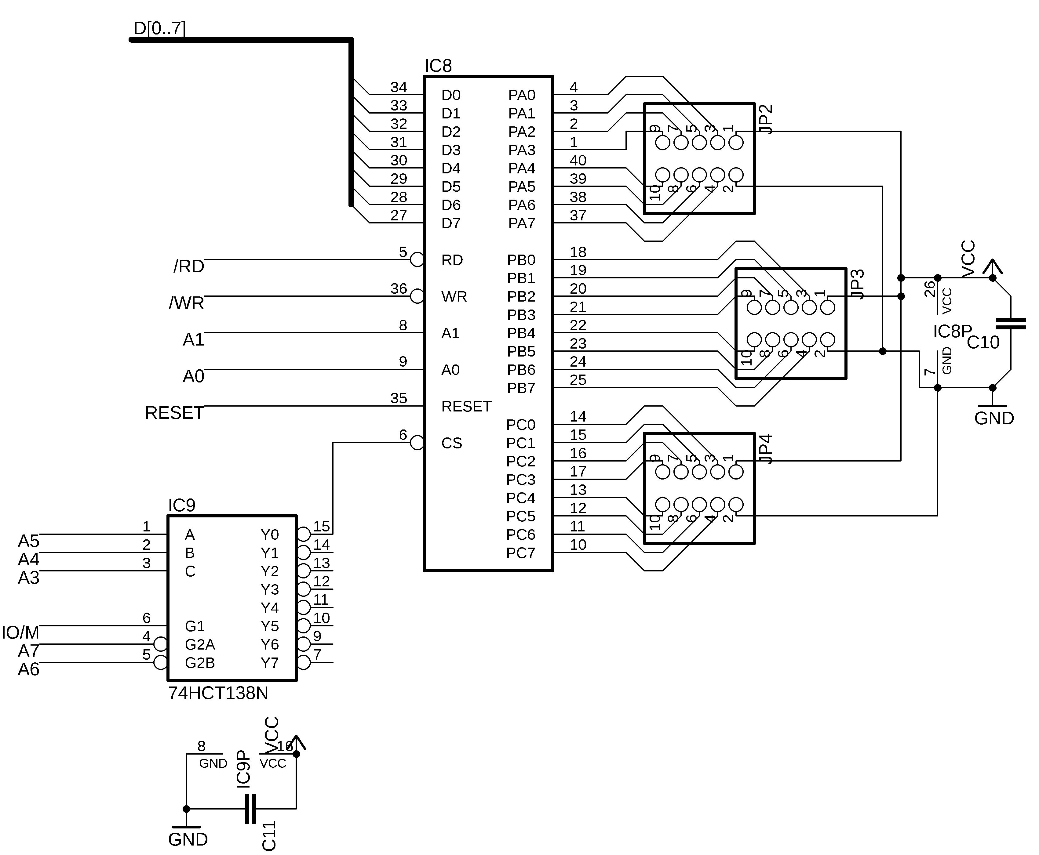 Omen Alpha Schematic For The Parallel Port Driver Matrix As Ports Optional