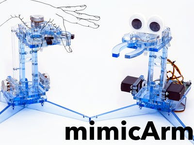 mimicArm: Learn to Code Your Own A.I. Robot