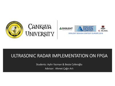 Final: Ultrasonic Radar Implementation on FPGA