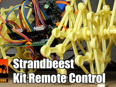 Remote Controlled Strandbeest
