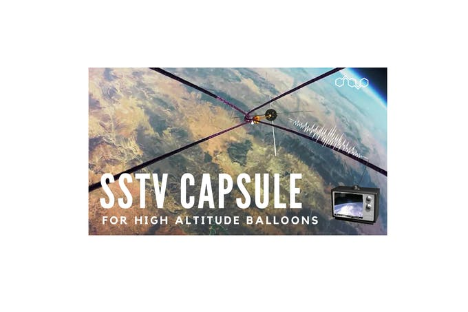 SSTV Capsule for High Altitude Balloons - Arduino Project Hub