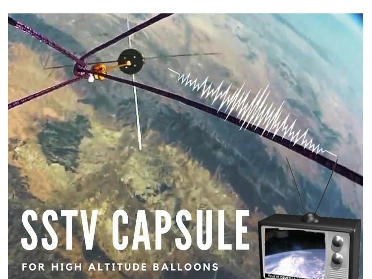 SSTV Capsule for High Altitude Balloons - Hackster io