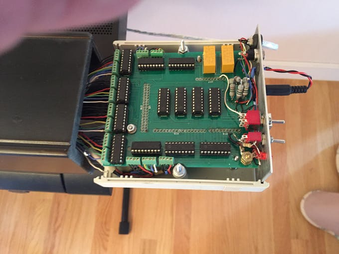 Universal Control Box for the Player Piano and the Player Xylophone