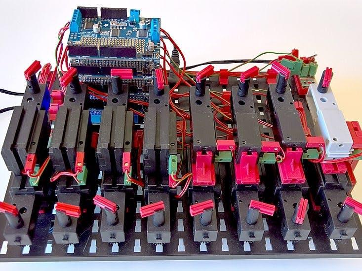 nanoFramework - 16 Motor Demo