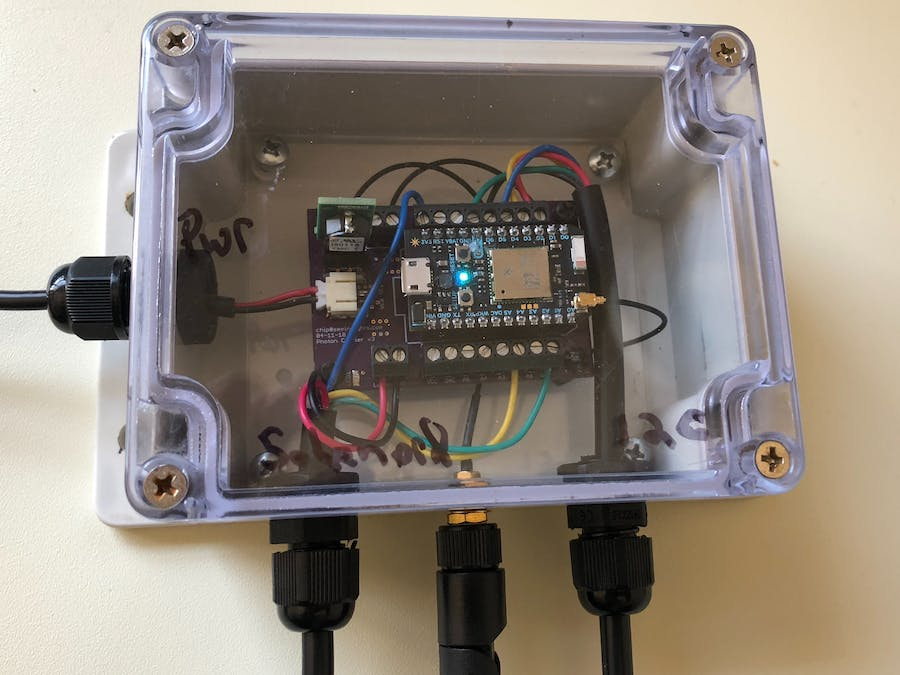 Smart and Safe Outdoor Plant Watering System  New for 2018 - Hackster io