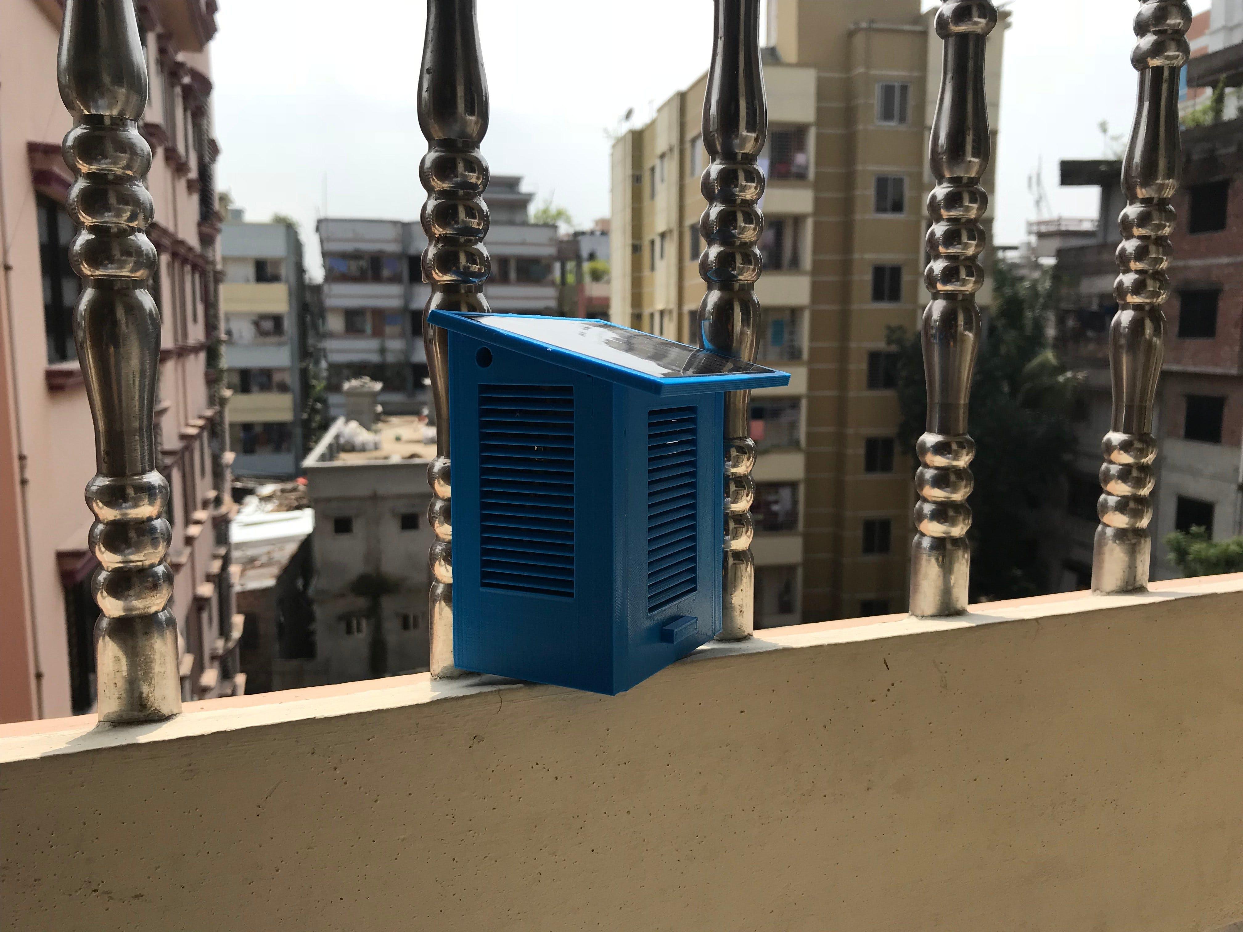 Solar Powered Environmental Monitoring Kit