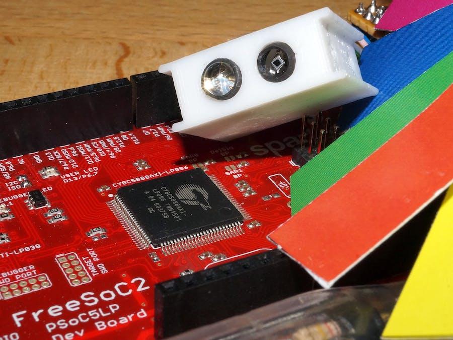 Cypress PSoC5LP RGB Sensor