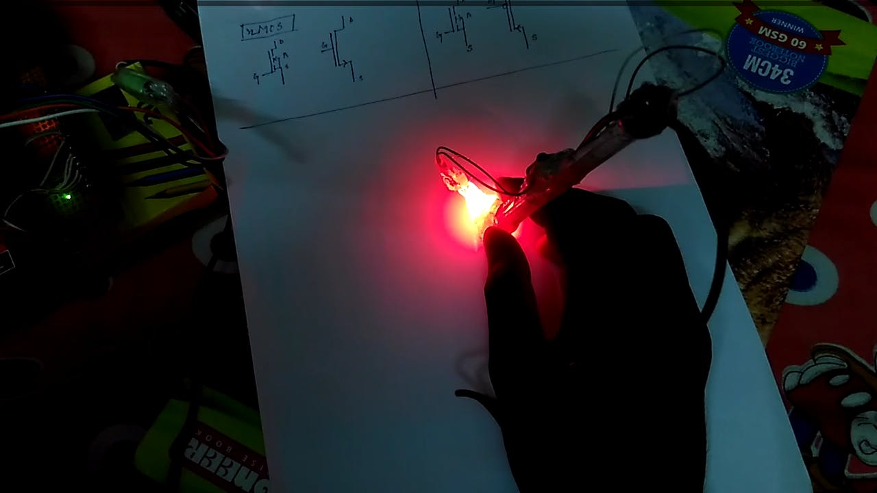 Sensing the motion of the pen