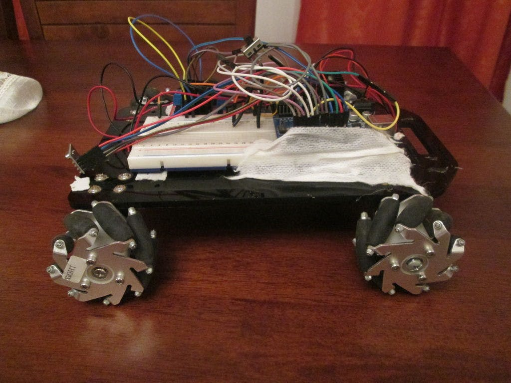 Rc Rover Controlled By Gest Circuit Board Picture Frame Getdigital