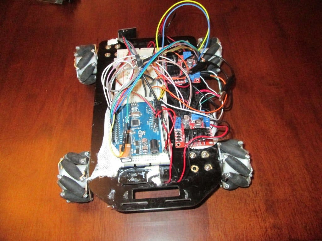 RC Rover Controlled by Gest