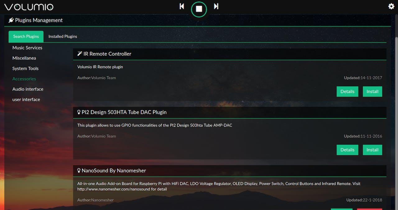 Volumio Mini Music Player - Hackster io